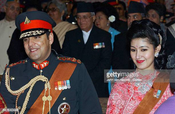 Crown Prince Paras Bir Bikram Shah Dav and Princess Himani at the royal palaceThe Himalayan kingdom witnessed its biggest social event in years the...