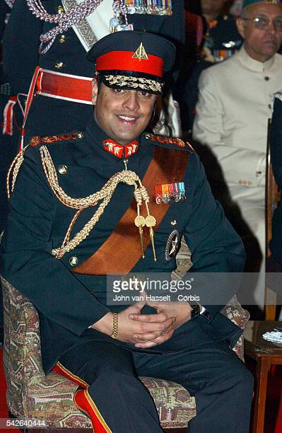 Crown Prince Paras Bir Bikram Shah Dav at the royal palaceThe Himalayan kingdom witnessed its biggest social event in years the marriage of King...