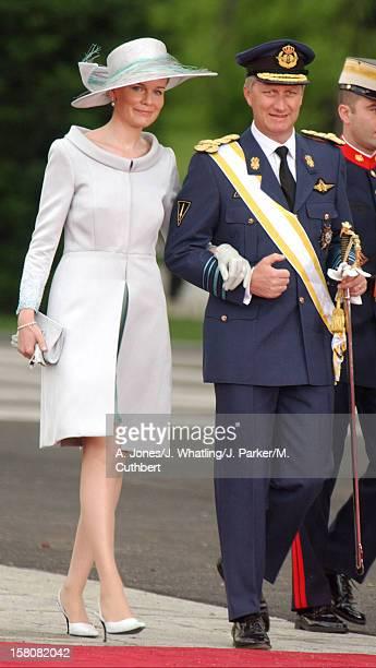 Crown Prince Philippe Crown Princess Mathilde Of Belgium Attend The Wedding Of Crown Prince Felipe Of Spain Letizia Ortiz Rocasolano In Madrid