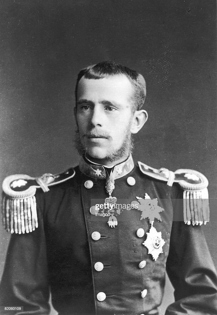 Crown prince Rudolf as general major, Photograph, 1881 : News Photo