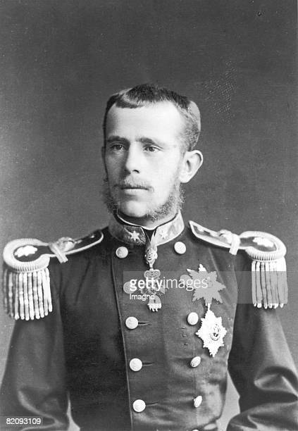 Crown prince Rudolf as general major, Photograph, 1881 [Kronprinz Rudolf als Generalmajor, Photographie, 1881]