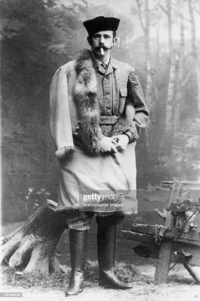 Crown prince Rudolf : News Photo