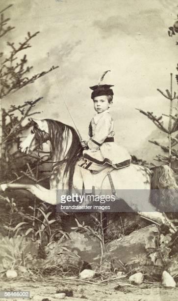 Crown prince Rudolf of Austria Photography 1863 [Kronprinz Rudolf von oesterreich Photographie 1863]