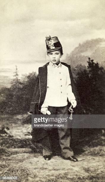 Crown prince Rudolf of Austria Photography1856 [Kronprinz Rudolf von oesterreich Photographie 1865]