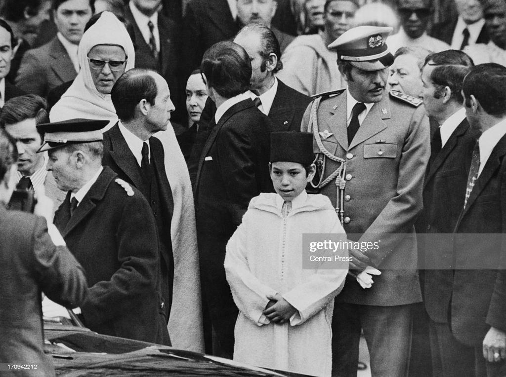 Moroccan Prince At Memorial : News Photo