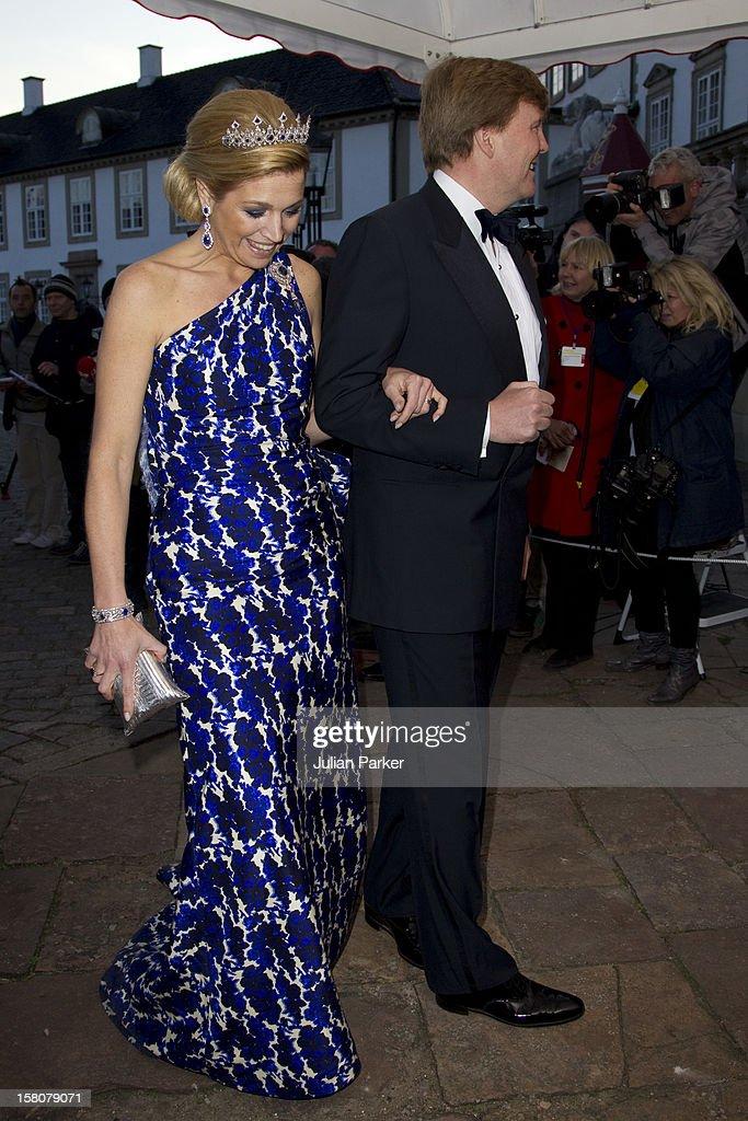 Queen Margrethe Of Denmark 70Th Birthday - Copenhagen : ニュース写真