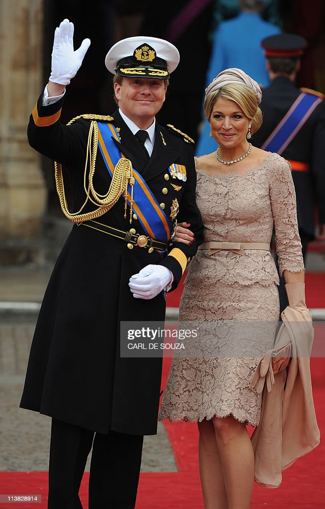 Crown Prince Willem Alexander and Prince : News Photo