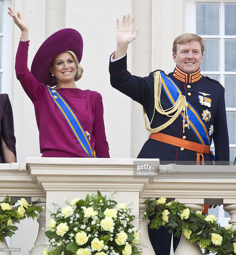 Dutch Royals Attend Budget Day At The Hague : News Photo