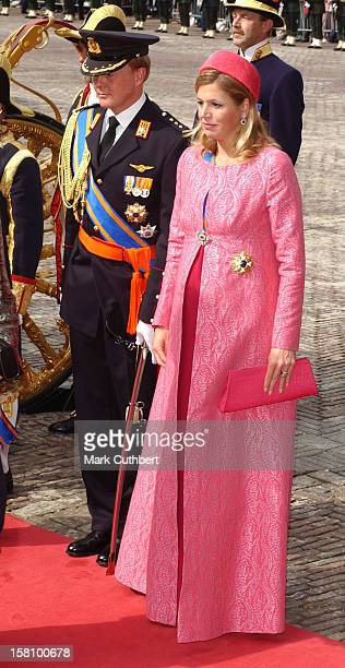 Crown Prince Willem Alexander Crown Princess Maxima Attend The Prinsjesdag State Opening Of Parliament In The Hague