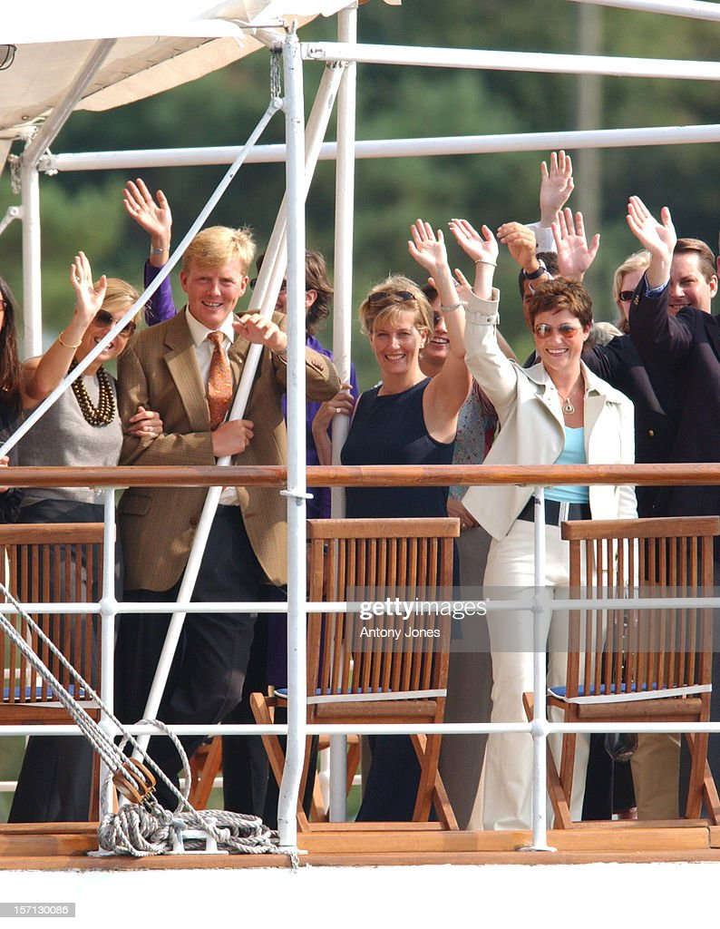 Boat Trip Before The Wedding Of Crown Prince Haakon Of Norway : News Photo