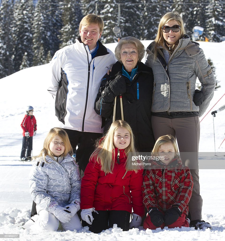 The Dutch Royal Family Attend Their Annual Winter Photocall : News Photo