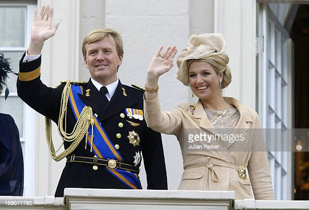 Crown Prince Willem Alexandra And Crown Princess Maxima Of Holland Attend The Prinsjesdag Prince'S Day State Opening Of Parliament In The Hague