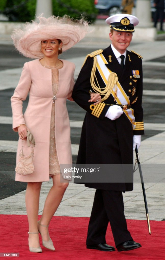 Crown Prince Willem and Princess Maxima of the Netherlands