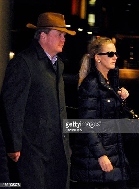 Crown Prince WillemAlexander arrives at Innsbruck hospital with Mabel Wisse Smit the wife of Prince Johan Friso on February 19 2012 in Innsbruck...
