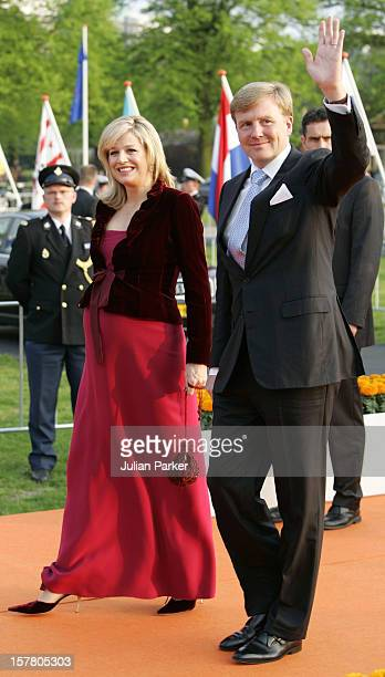 Crown Prince WillemAlexander Crown Princess Maxima Attend A Concert At The Malieveld In Den Haag As Part Of The Queen'S Day Celebrations In Holland