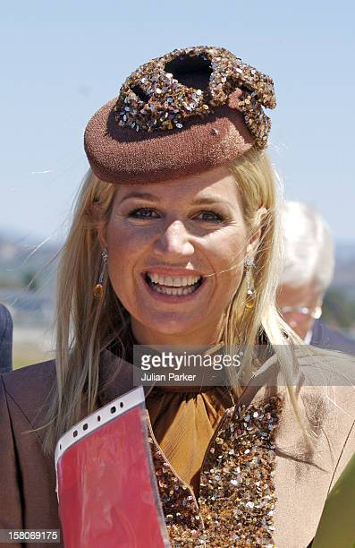 Crown Prince Willem-Alexander & Crown Princess Maxima Of The Netherlands Six-Day Tour Of Australia.Arrival At Canberra Airport. .