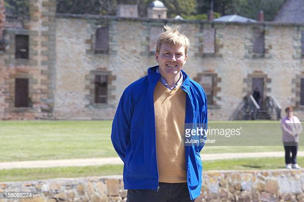 Crown Prince Willem-Alexander & Crown Princess Maxima Of The Netherlands Six-Day Tour Of Australia.Visit To Port Arthur. .