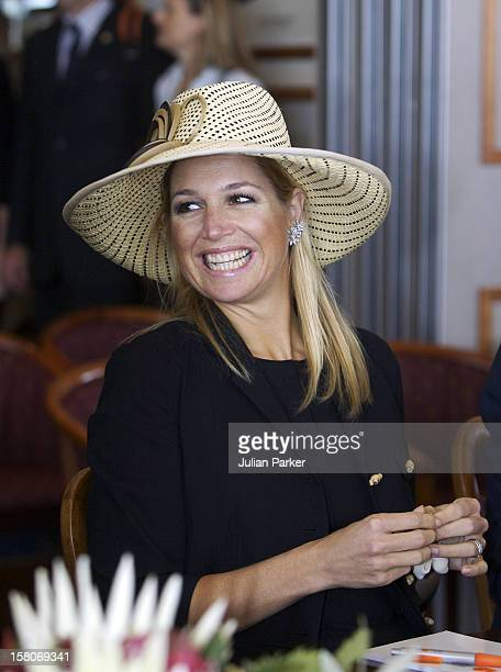 Crown Prince Willem-Alexander & Crown Princess Maxima Of The Netherlands Six-Day Tour Of Australia.Sailing Around Sydney Harbour On Historic Ship The...