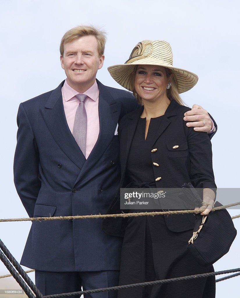 Crown Prince Willem-Alexander & Crown Princess Maxima Visit Australia : News Photo