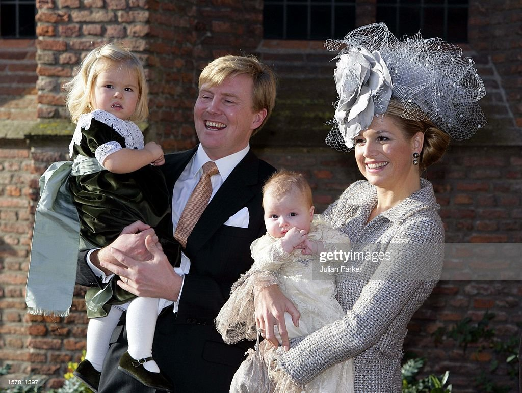 The Christening Princess Alexia Of The Netherlands : News Photo