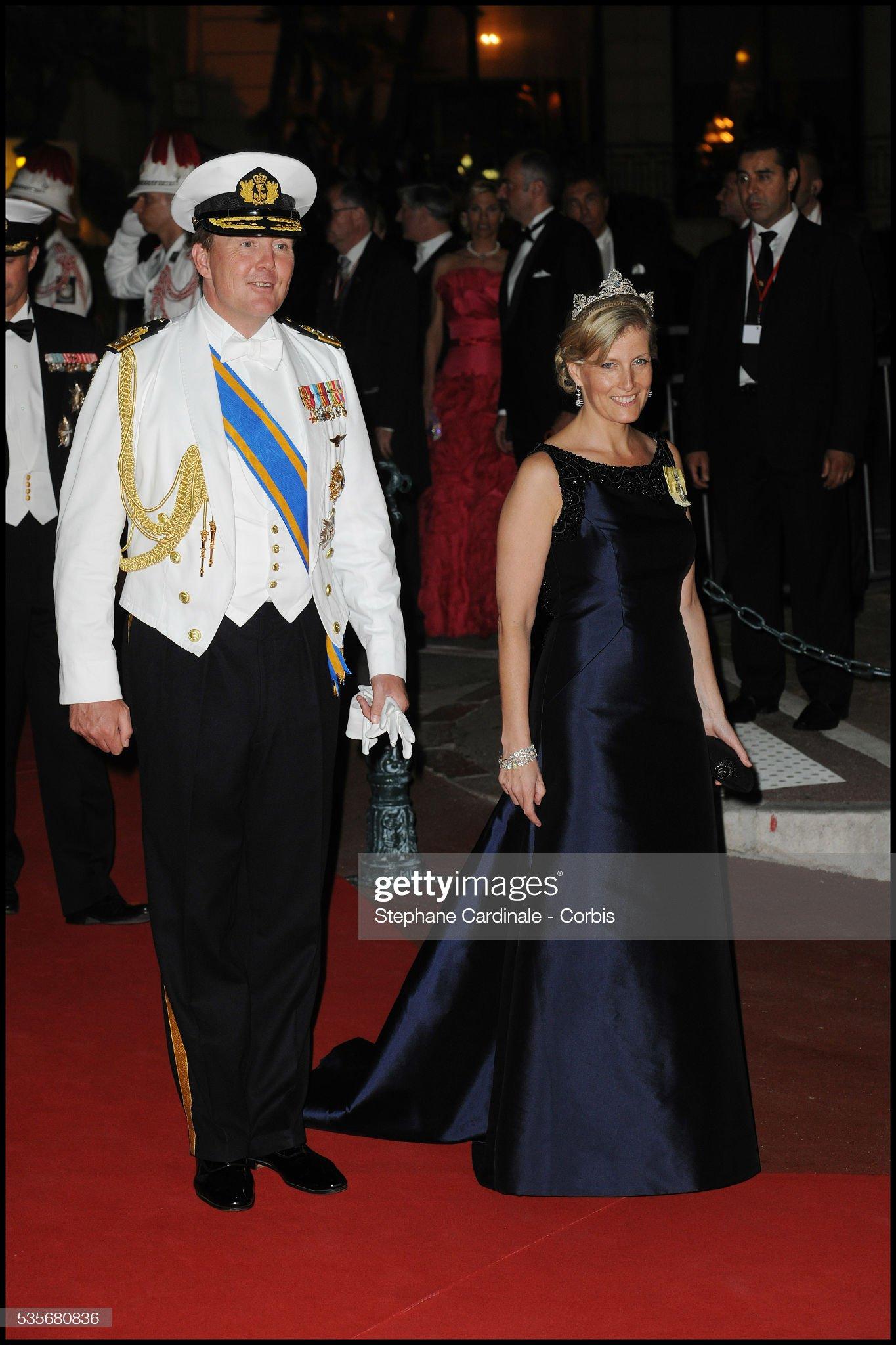 Monaco - Monaco Royal Wedding - Dinner : News Photo