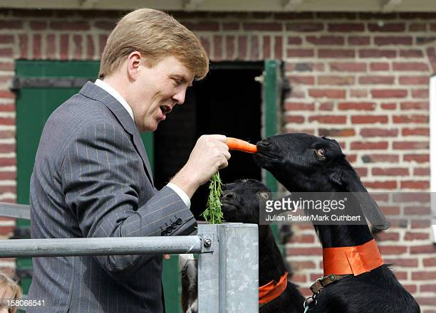 Crown Prince Willem-Alexander Visits Scheveningen As Part Of The Annual Queen'S Day Celebrations In Holland. .