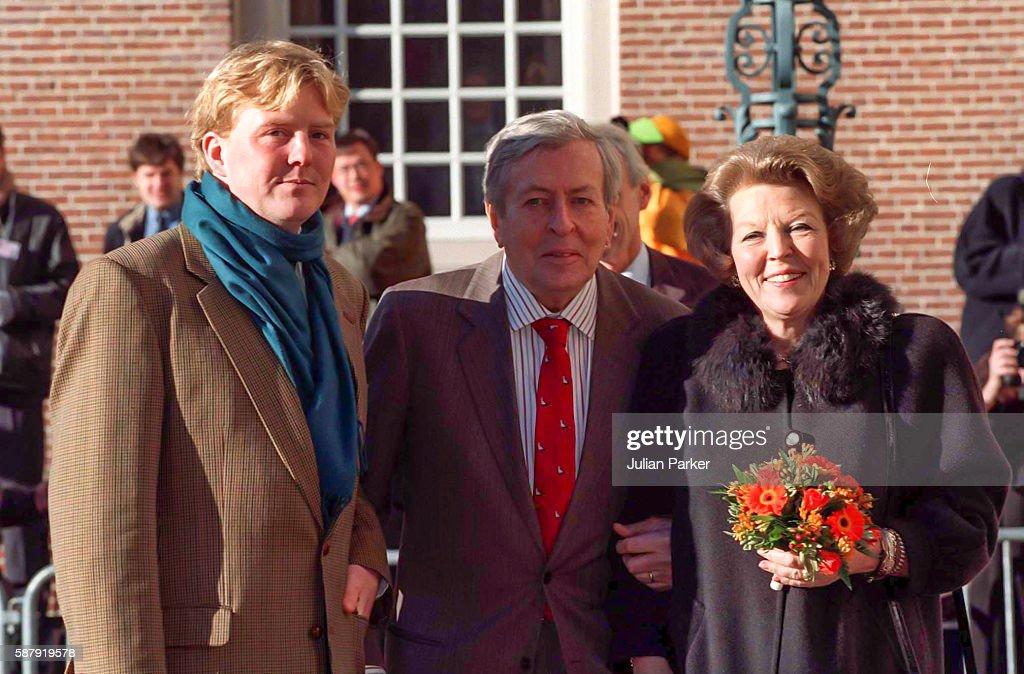 Queen Beatrix of the Netherlands 60th Birthday Celebrations, Day 2 : Nieuwsfoto's
