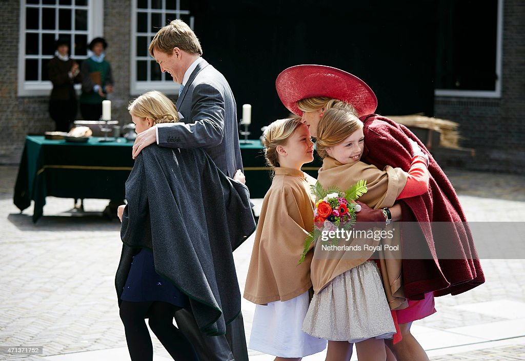 Dutch Royal Family Attends King's Day : Nieuwsfoto's