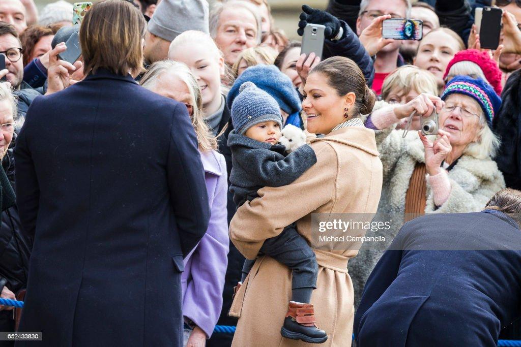 The Crown Princess Name Day : News Photo