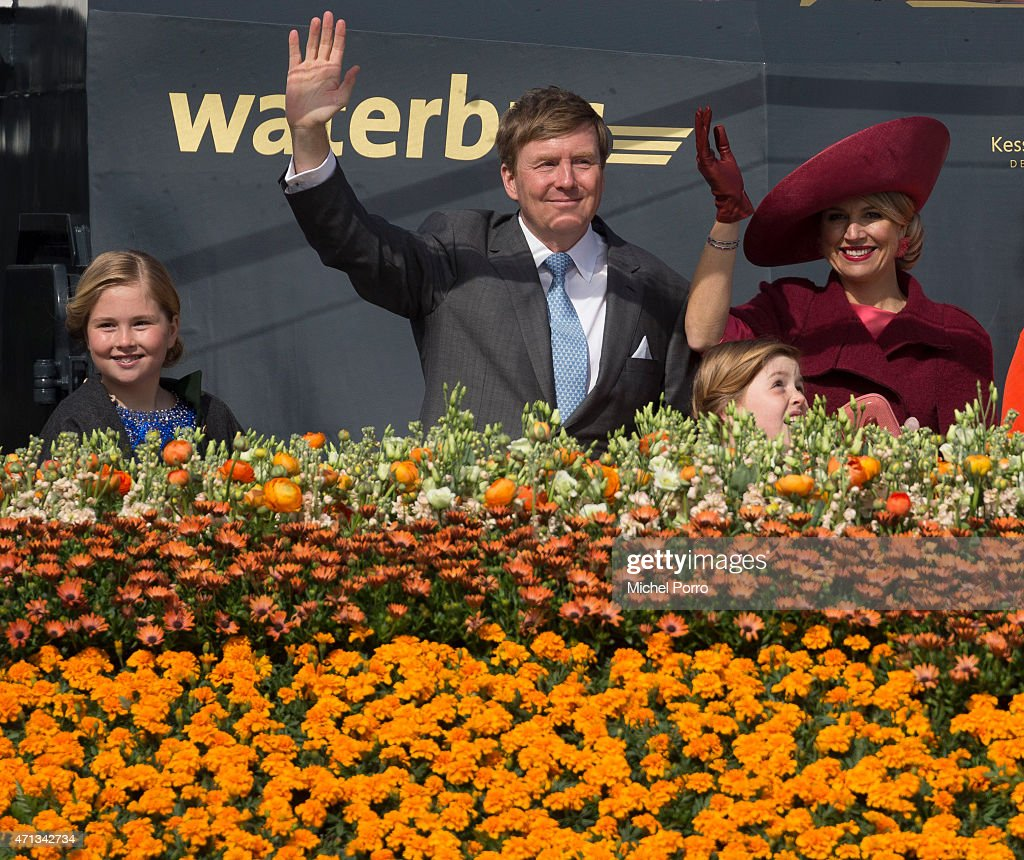Dutch Royal Family Attends King's Day : News Photo