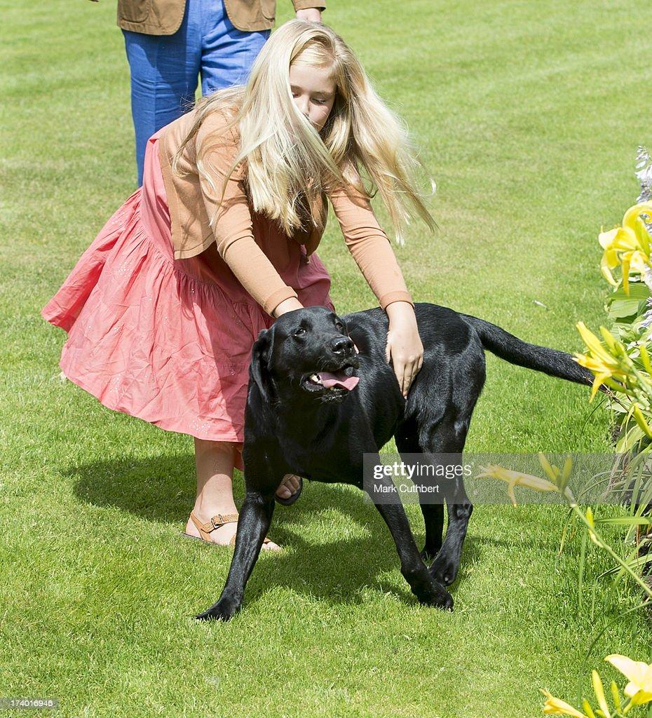 Dutch Royal Family Hold Annual Summer Photocall : News Photo