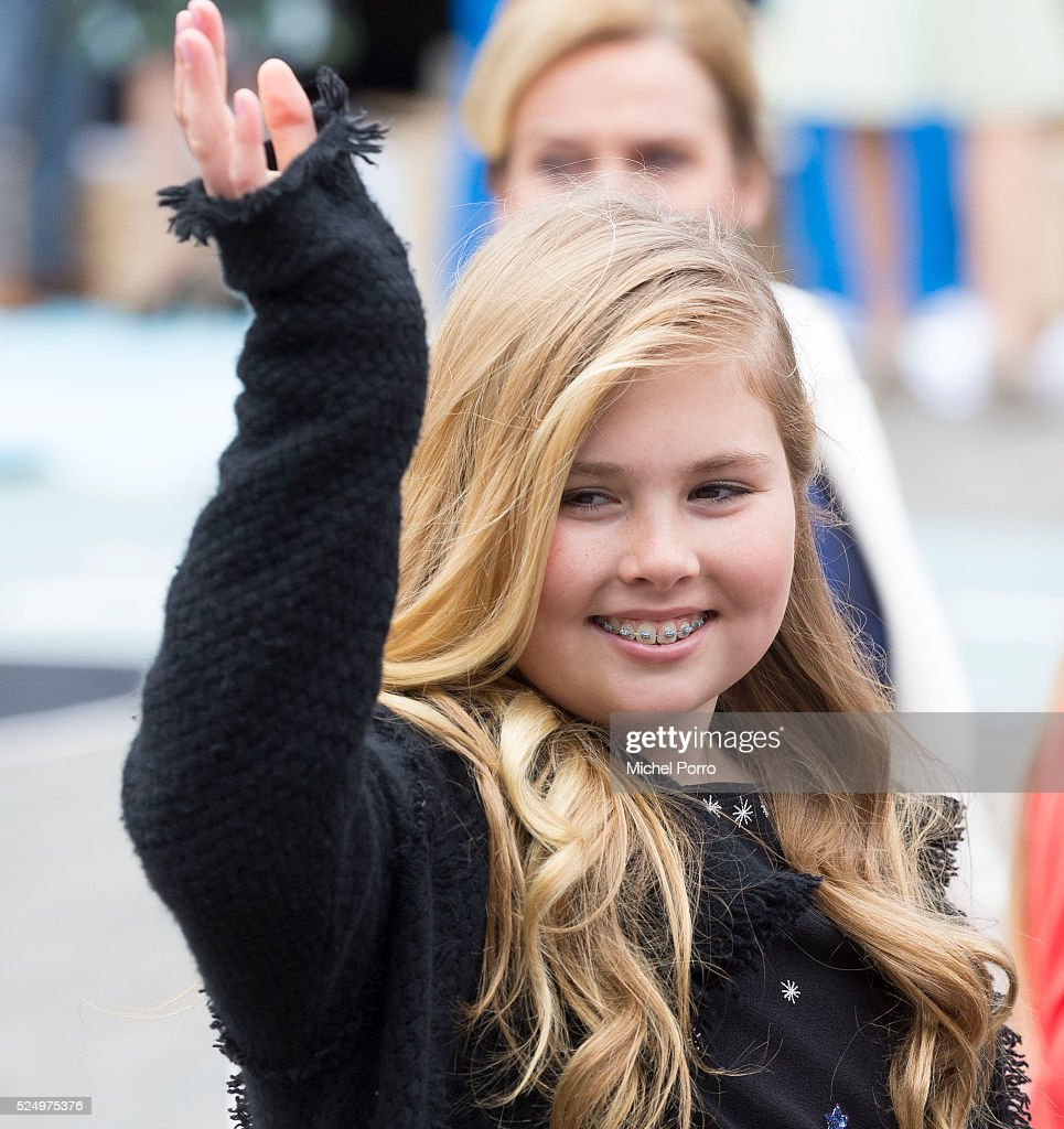 The Dutch Royal Family Attend King's Day : Nieuwsfoto's