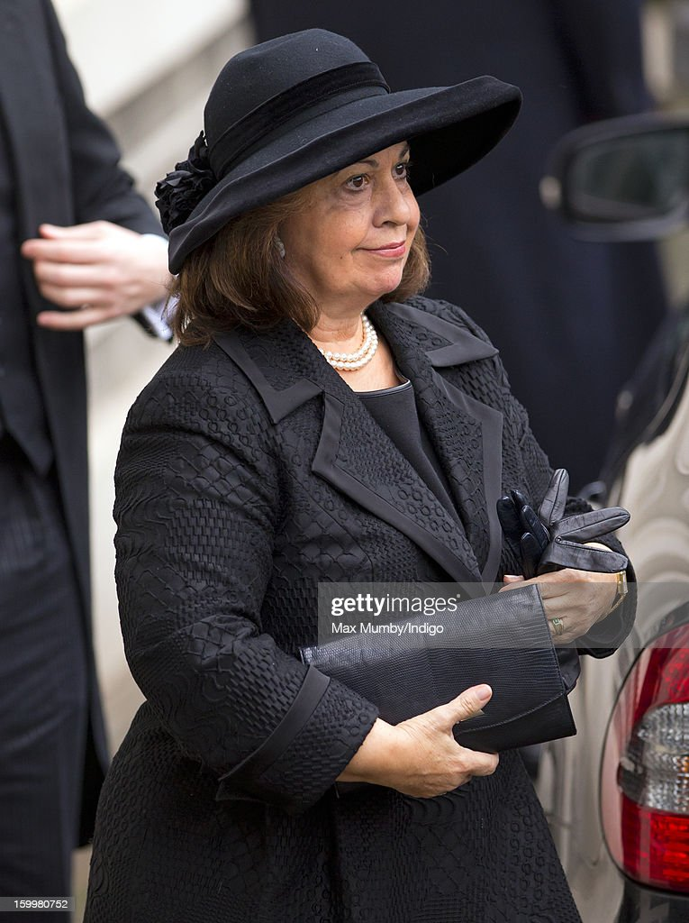 Prince Philip Attends The Funeral Of His Niece, Princess Margarita Of Baden : News Photo
