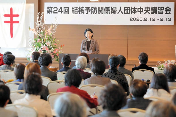 JPN: Crown Princess Kiko Of Akishino Attends Japan Anti-Tuberculosis Association Meeting