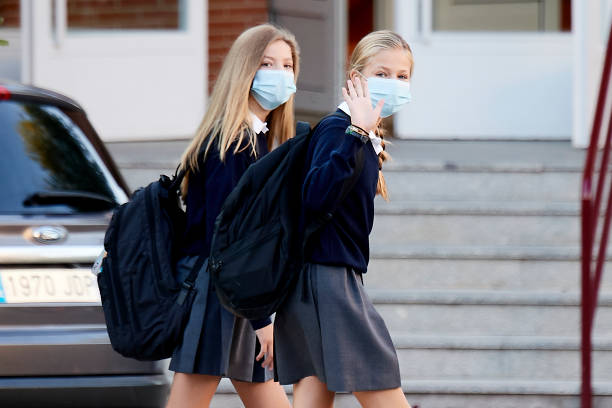 ESP: Princess Sofia Of Spain Starts The School Course