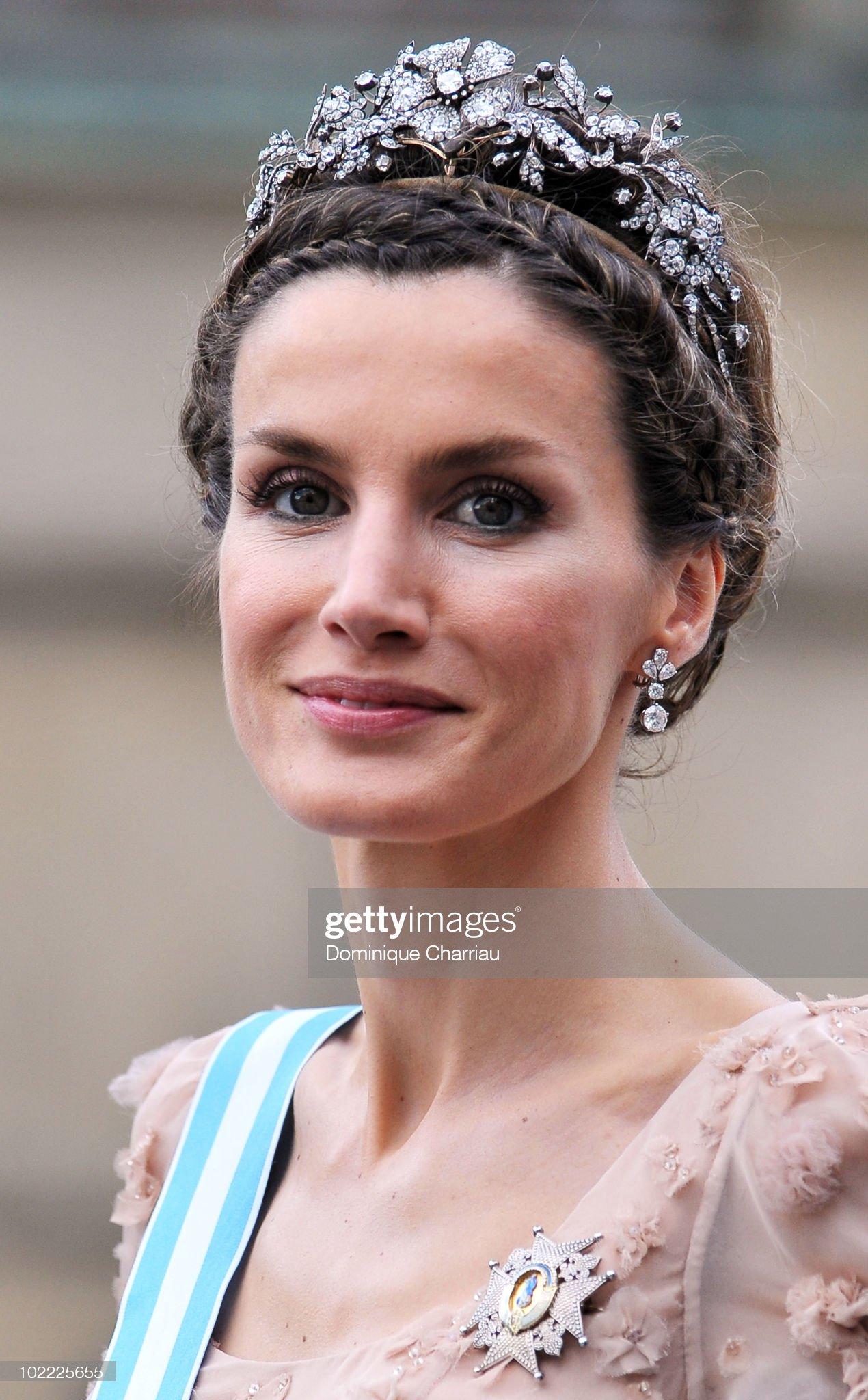 Вечерние наряды Королевы Летиции Crown Princess Victoria & Daniel Westling: Cortege : News Photo