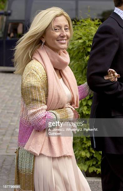 Crown Princess Marie Chantal Of Greece Attends A Luncheon Onboard The Royal Yacht In Copenhagen Before The Wedding Of Crown Prince Frederik Mary...