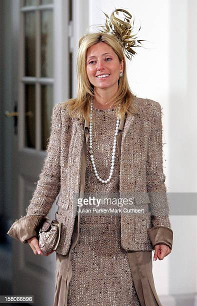 Crown Princess Marie Chantal Of Greece Attends The Christening Of Crown Prince Frederik Crown Princess Mary Of Denmark'S Son Christian Valdemar Henri...