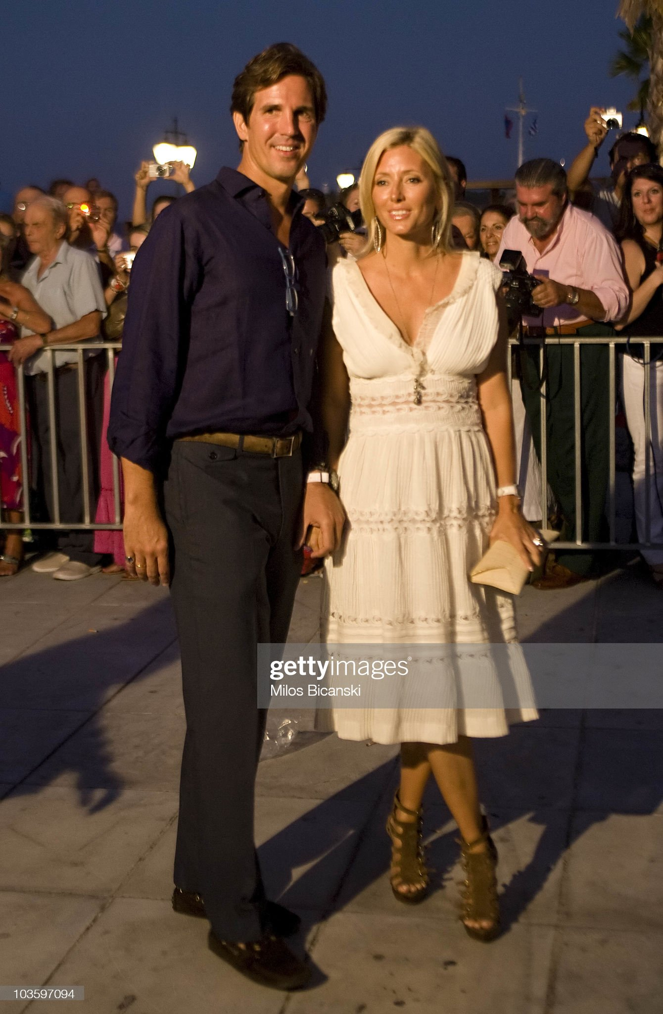 Wedding of Prince Nikolaos and Tatiana Blatnik - Pre Wedding Reception : News Photo