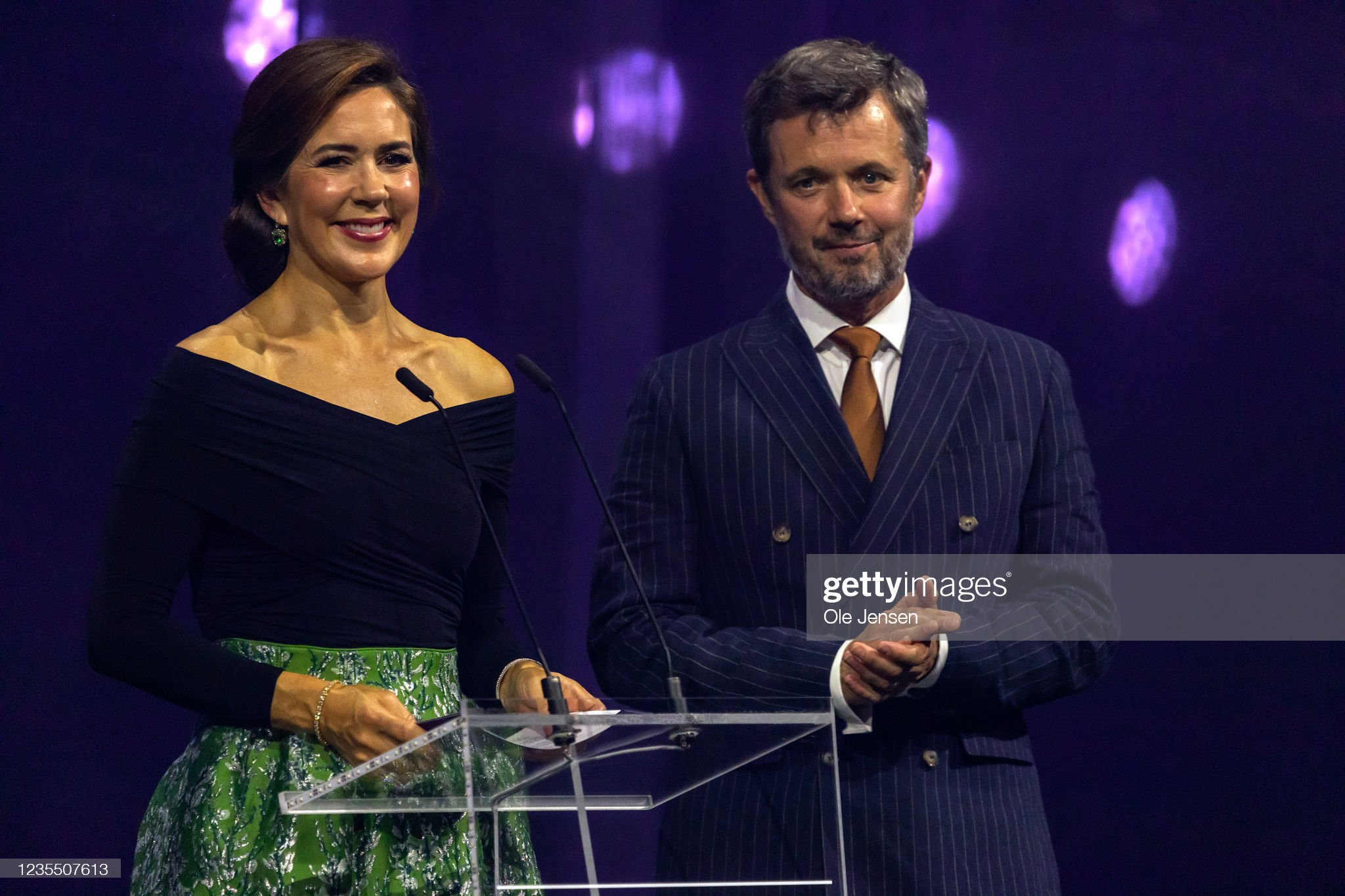 Danish Crown Prince Couple Visit Vejle And Jelling : News Photo