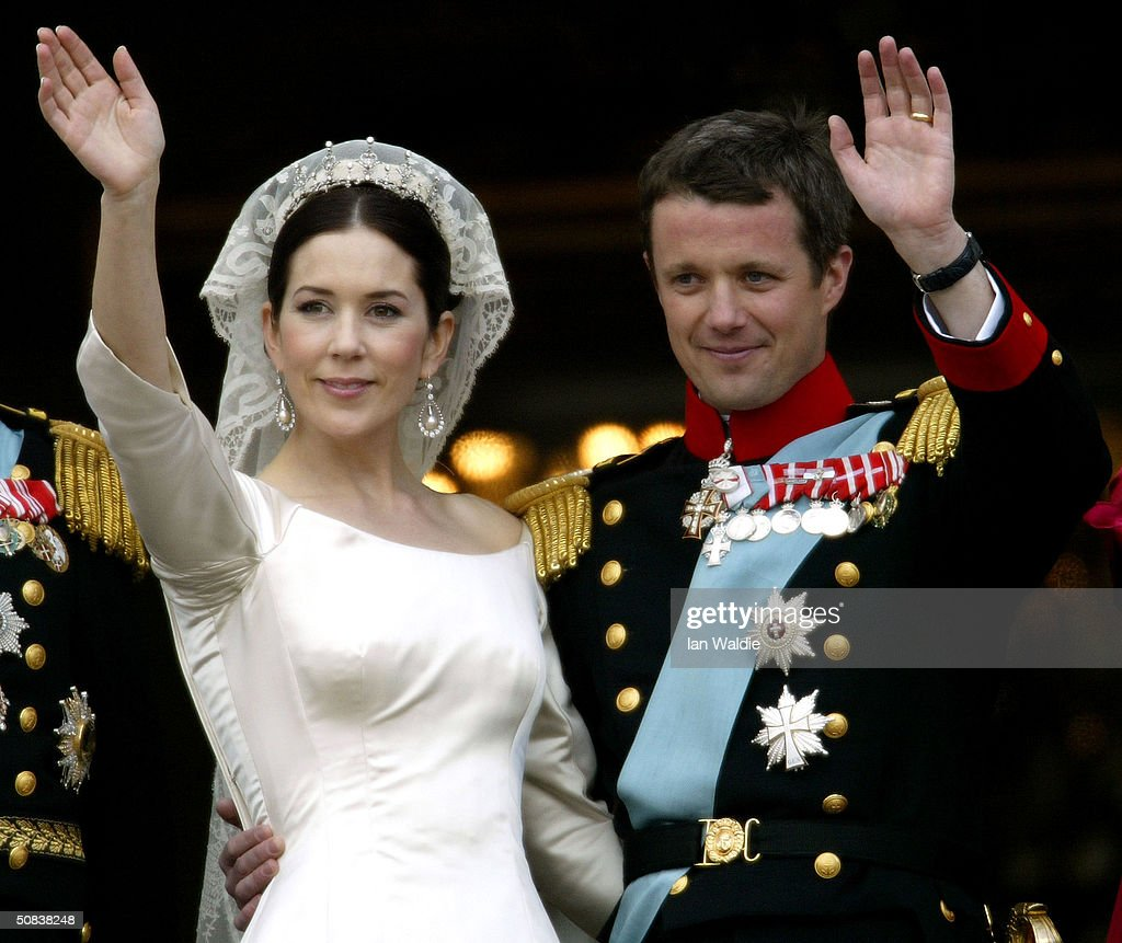 Crown Princess Mary And Prince Frederik Of Denmark Wave From The Balcony Vii S