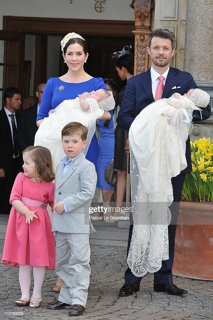 Christening of the Danish Royal Twins, Prince Vincent and Princess Josephine