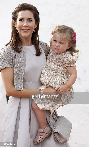 Crown Princess Mary And Princess Isabella Attend The Christening Of Prince Henrik Carl Joachim Alain At Mogeltonder Church In Mogeltonder Denmark