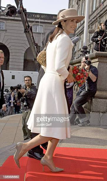 Crown Princess Mary Attends The Opening Of The Danish Parliament In Copenhagen