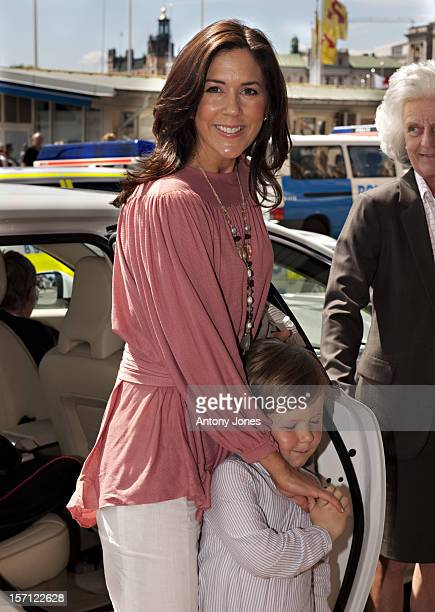 Crown Princess Mary Of Denmark And Crown Prince Frederik Arrive At The Grand Hotel Before The Wedding Of Crown Princess Victoria Of Sweden And Daniel...