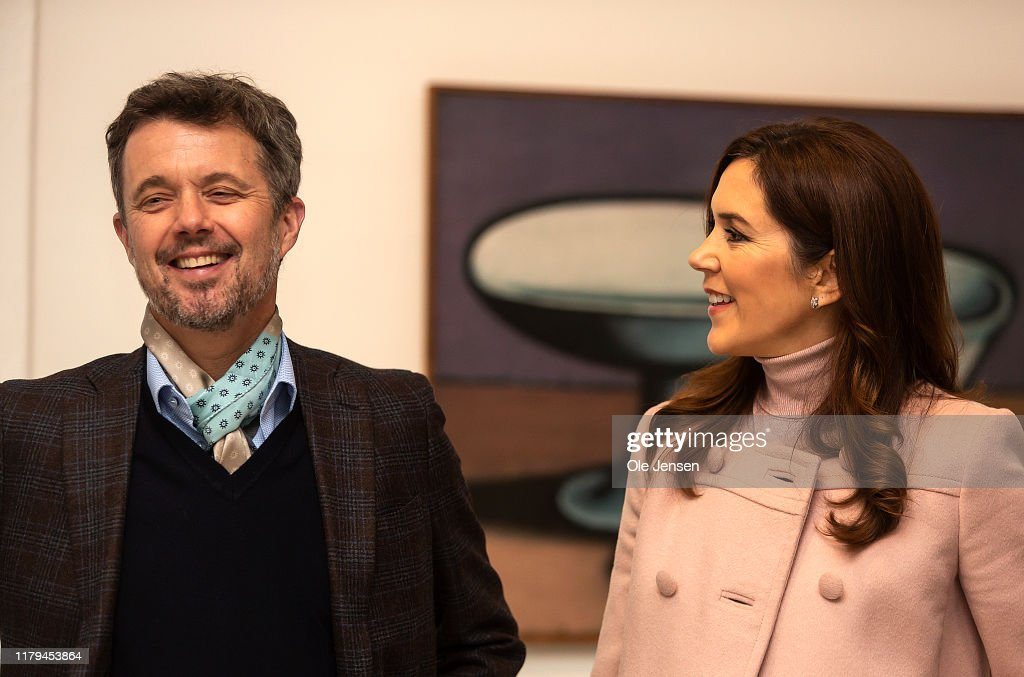 The Danish Crown Prince Couple's Visit A Cultural Centre In Odense : News Photo