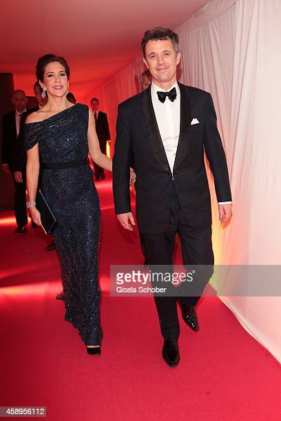 Crown Princess Mary of Denmark and her husband Crown Prince Frederik of Denmark the Bambi Awards 2013 after show party on November 13 2014 in Berlin...