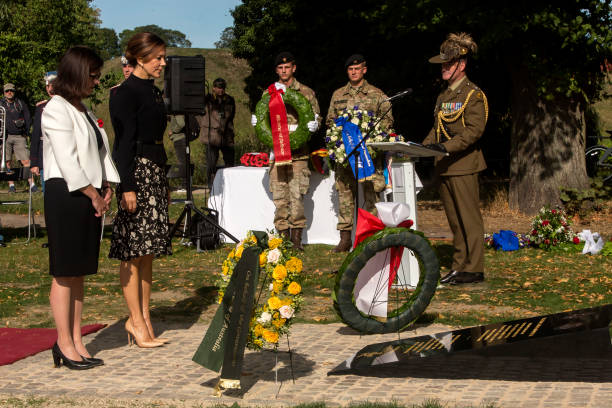 DNK: Crown Princess Mary Participates In Inauguration Of Australian War Monument In Copenhagen