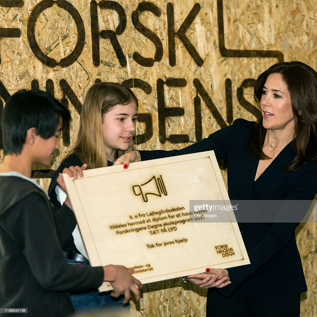 DNK: Crown Princess Mary Participates In Opening Of The Danish Science Festival