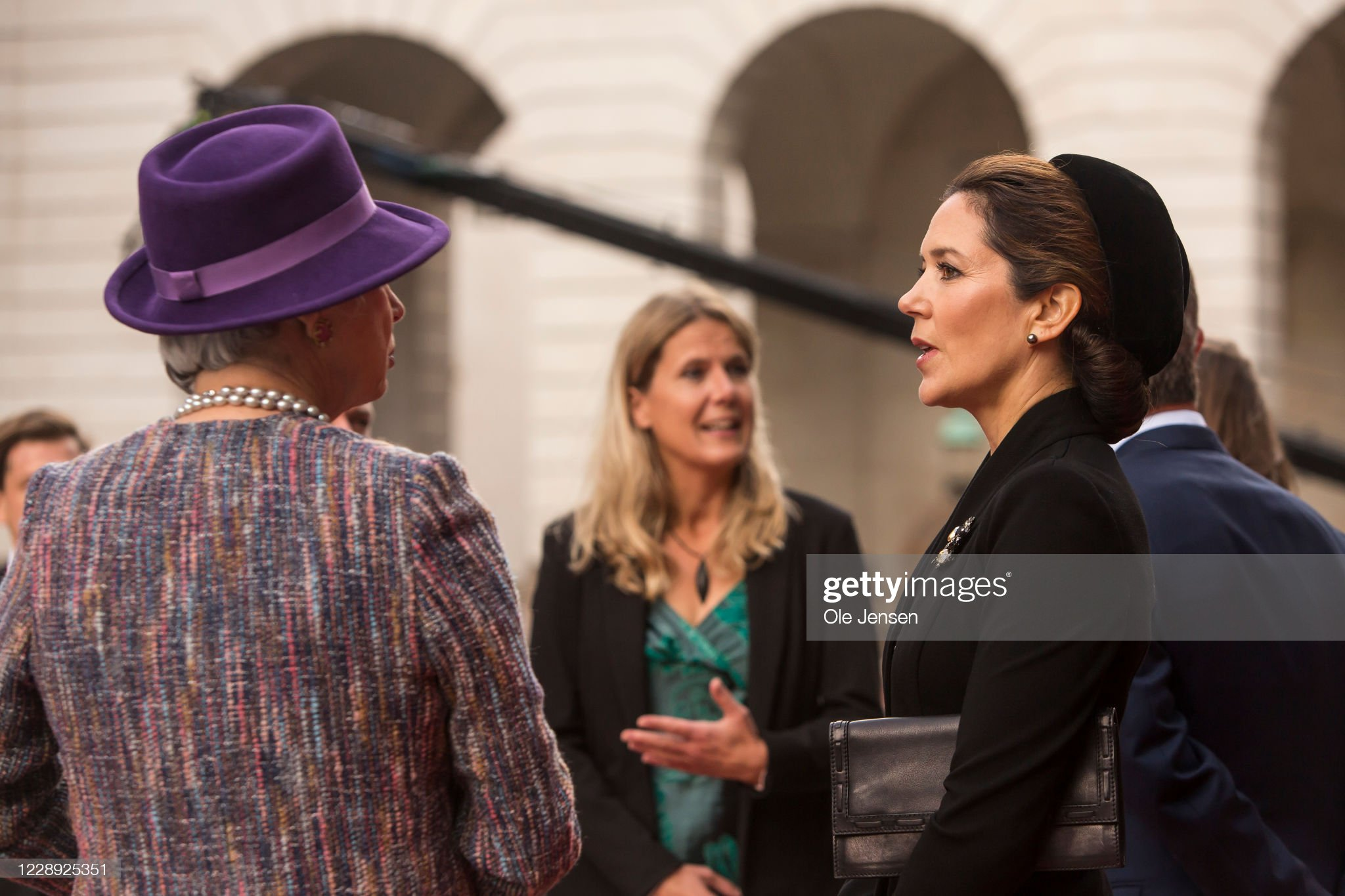 The Danish Royal Family Attend  Parliament Opening : News Photo